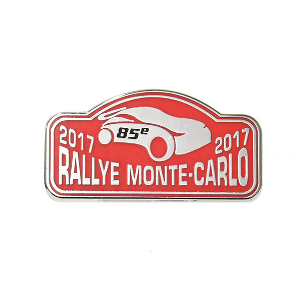 Rally Monte Carlo 2017 Official Pin Badge