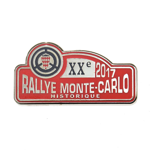 Rally Monte Carlo Historique 2017 Official Pin Badge
