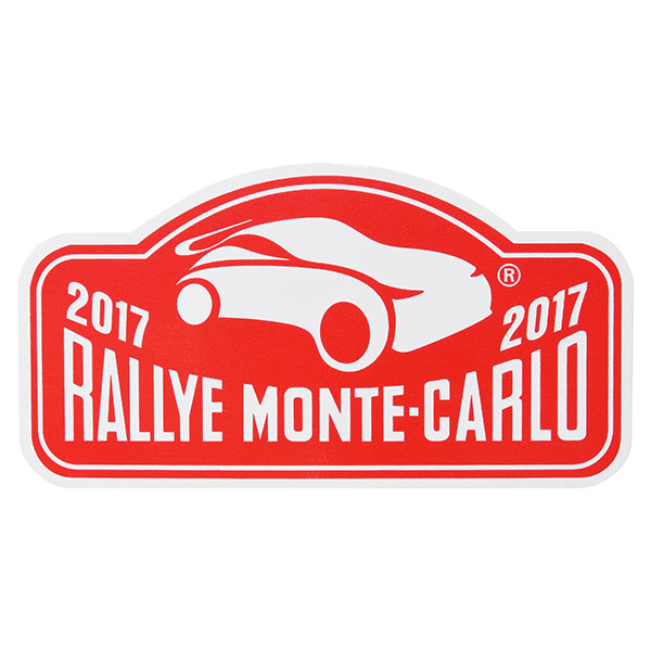 Rally Monte Carlo 2017 Official Sticker