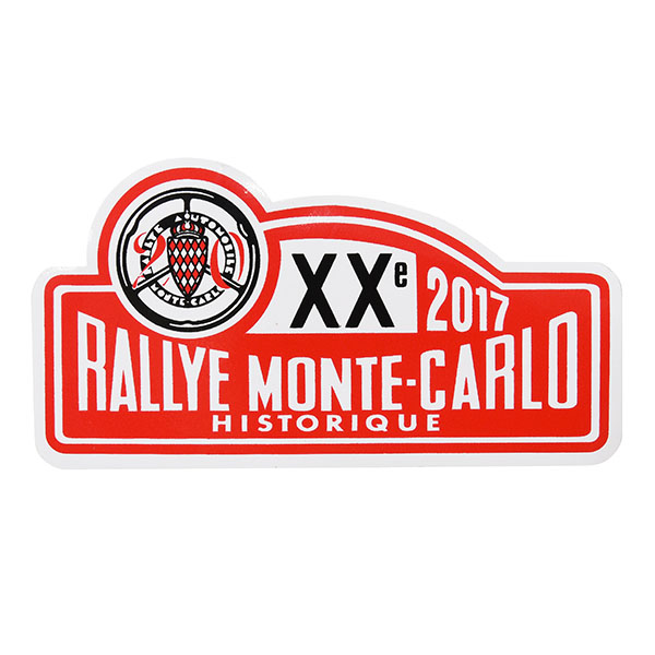 Rally Monte Carlo Historique 2017 Official Sticker