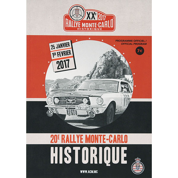 Rally Monte Carlo Historique 2017 Official Program