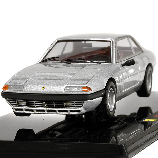 1/43 Ferrari 365 GT4 2+2 Miniature Model(Silver)