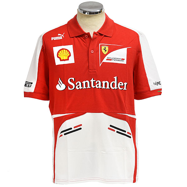 Scuderia Ferrari 2013 Team Polo Shirts