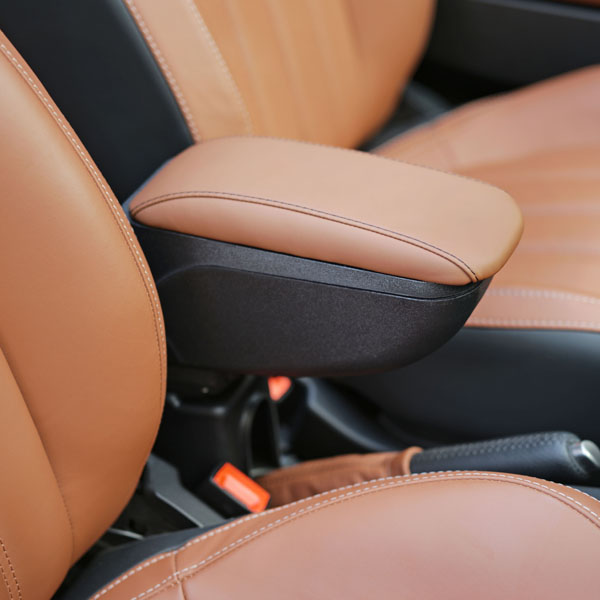 FIAT 500 Arm Rest(Brown)