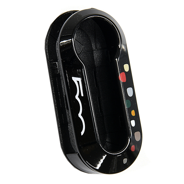 FIAT 500 Keycover(Dot/Black)