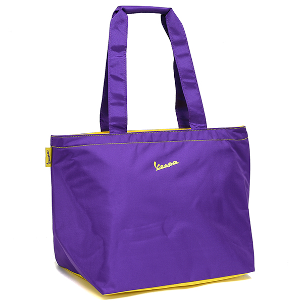 Vespa Official Nylon Tote Bag(Purple)