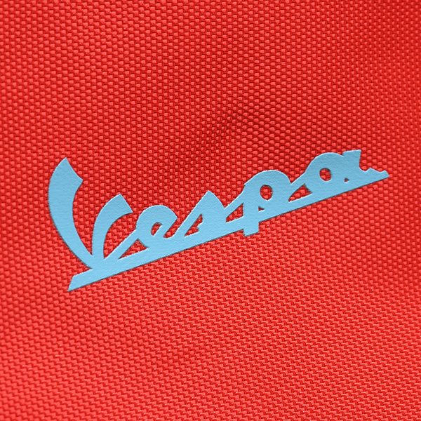 Vespa Official Nylon Pouch(Red)