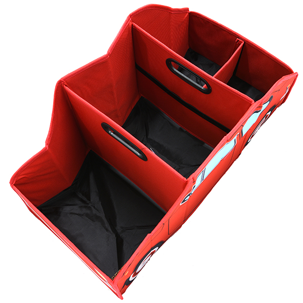 FIAT Nuova 500 Luggage room Organizer(Red)