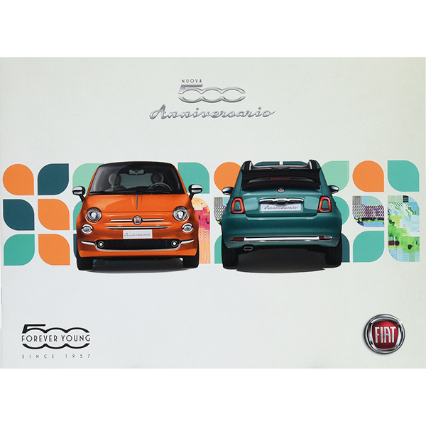 FIAT 500 Anniversario Catalogue