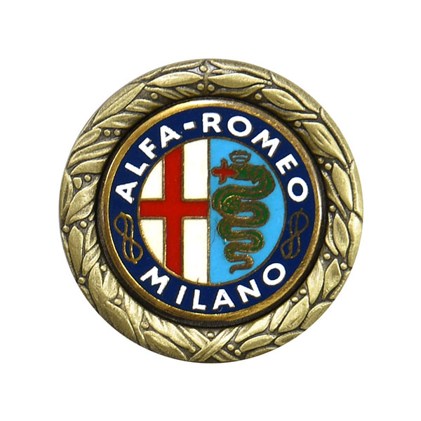 Alfa Romeo Historic Emblem Pin Badge Collection No.3