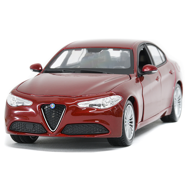 1/24 Alfa Romeo GIULIA Miniature Model(Red Metalic)