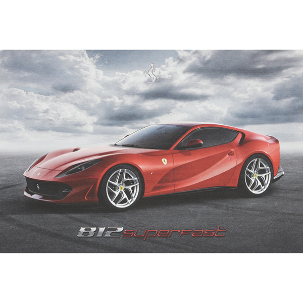 Ferrari 812 superfast Technical Card