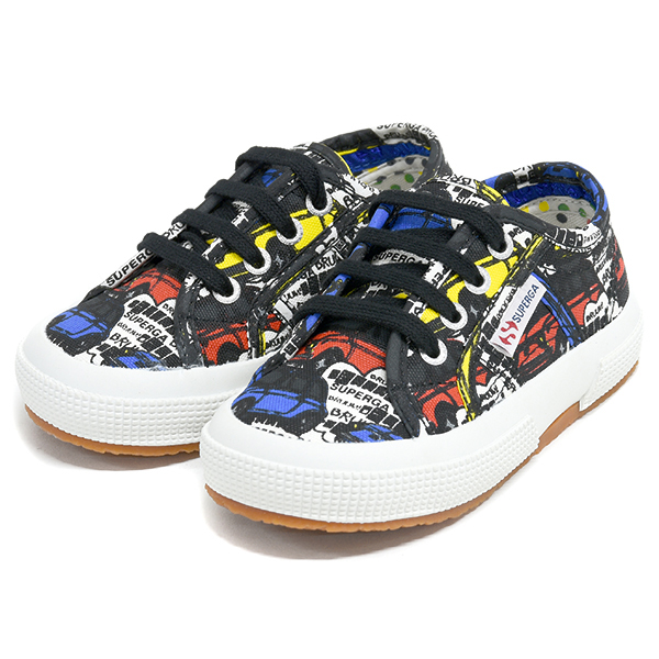 FIAT 500 Illustration Kids Shoes  by SUPERGA