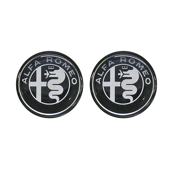 Alfa Romeo New Emblem 3D Sticker(19mm/2pcs.)