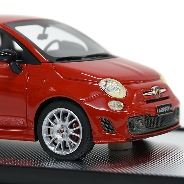 1/43 ABARTH 595ミニチュアモデル(ROSSO CORSA) by BBR