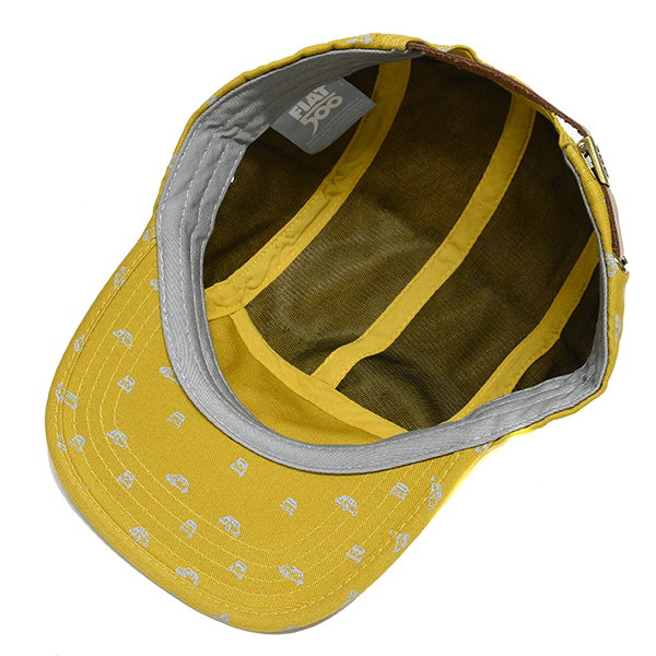 FIAT Nuova 500 Baseball Cap(Yellow)