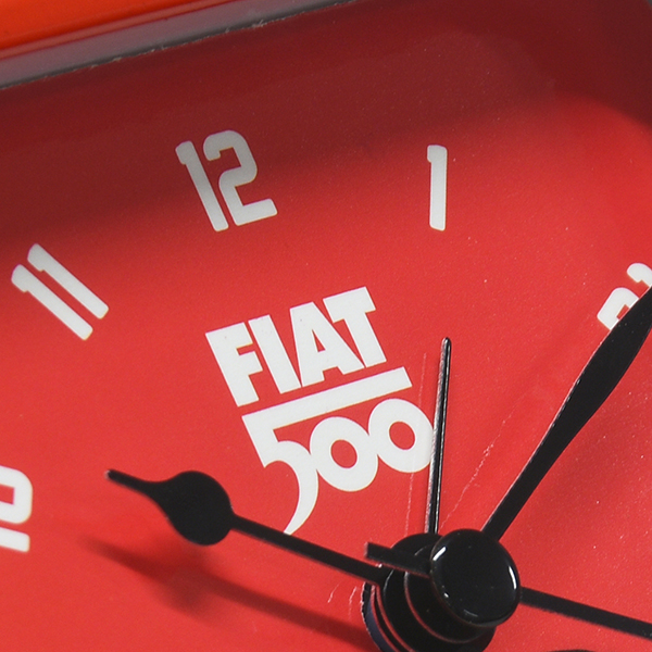FIAT Nuova 500 Alarm Clock(Red)