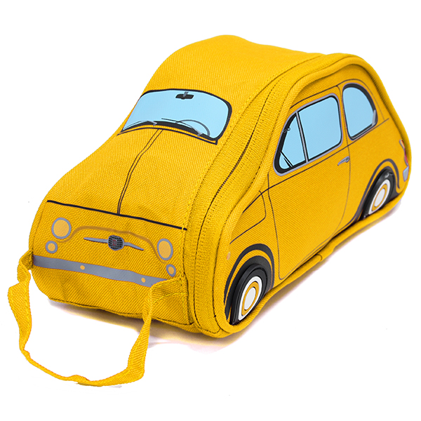 FIAT Nuova 500 Shaped Small Pouch(Yellow)