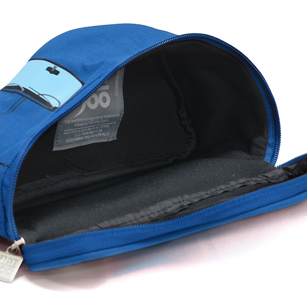 FIAT Nuova 500 Shaped Small Pouch(Blue)
