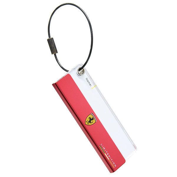 Ferrari STORE Madrid Official Name Tag