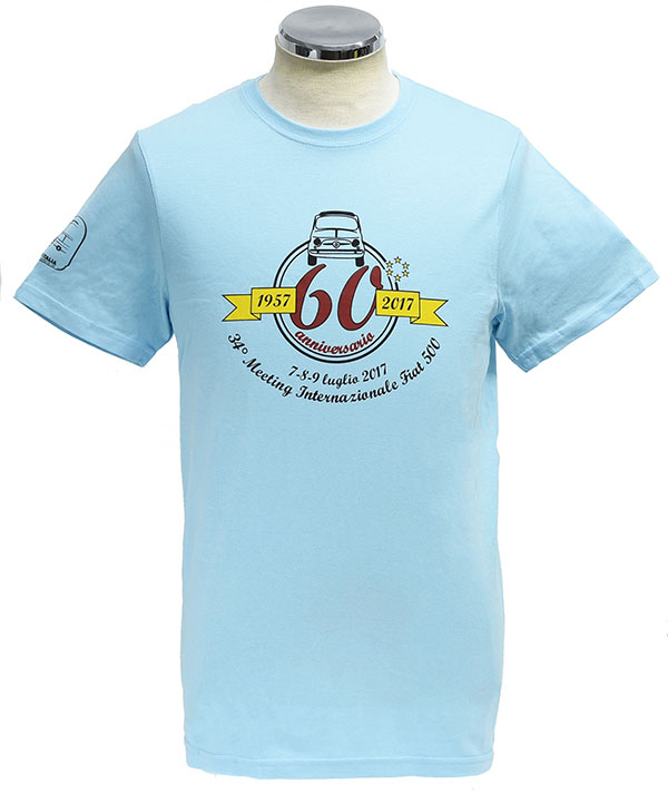 FIAT 500 CLUB ITALIA FIAT 500 60 anni Memorial T-Shirts