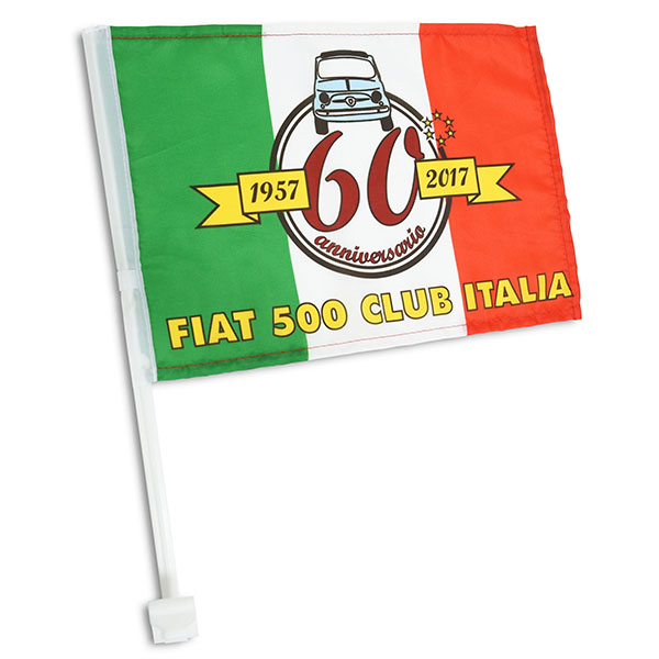 FIAT 500 CLUB ITALIA FIAT 500 60 Anni Memorial Flag