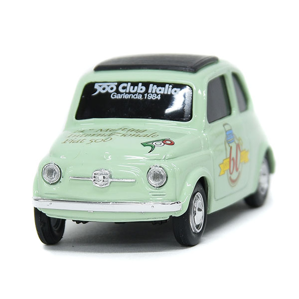 1/43 FIAT 500 CLUB ITALIA FIAT 500 60 Anni Memorial Miniature Model(Green)