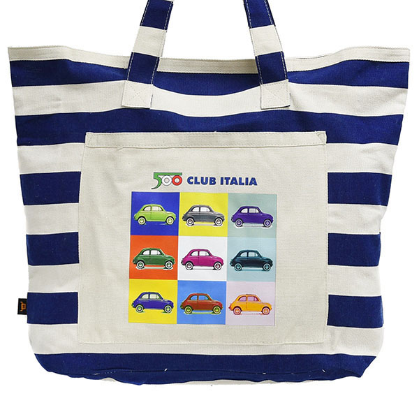 FIAT 500 CLUB ITALIA Official Tote Bag(XLarge)