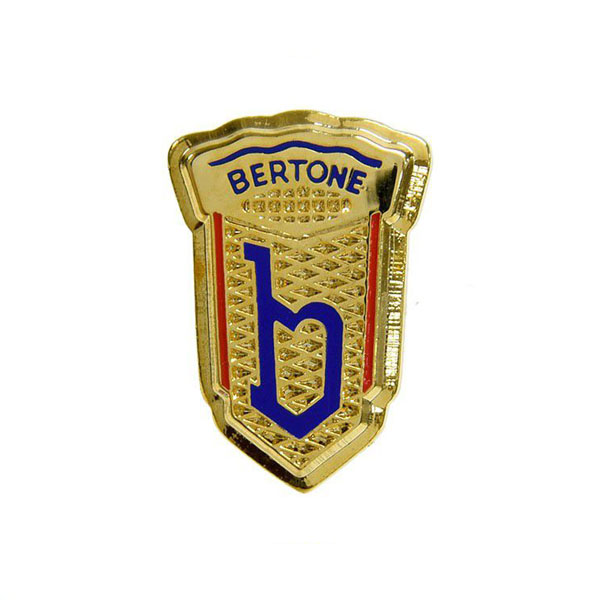 BERTONE Emblem Pin Badge(Gold)