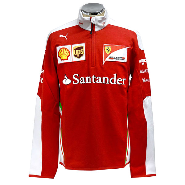 Scuderia Ferrari 2016 Team Staff Zip-Up Felpa
