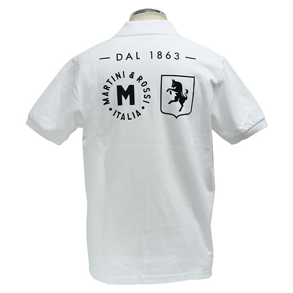 MARTINI Official Polo Shirts(White)