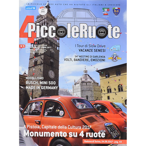 FIAT 500 CLUB ITALIA Magazine No.5/2017