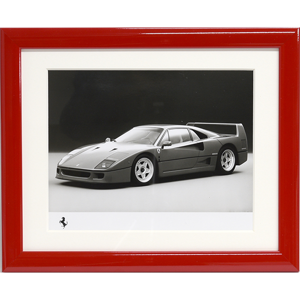 Ferrari F40 Press Photo with Frame