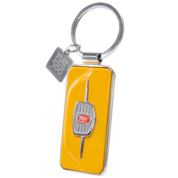 FIAT Nuova 500 Front Grill Keyring(yellow)