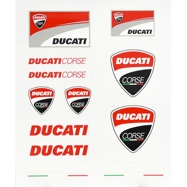 DUCATI Official Sticker Set