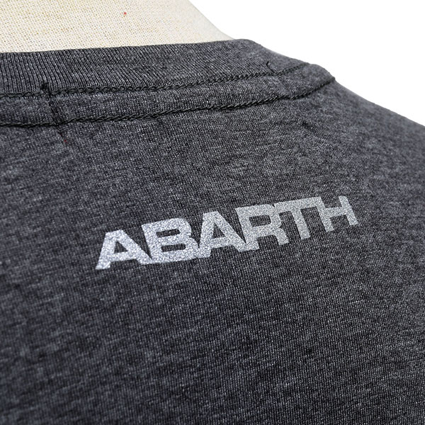 ABARTH純正Tシャツ-ADULTS ONLY/グレー-
