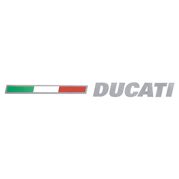 DUCATI純正ロゴ&amp;イタリア国旗ステッカー<br><font size=-1 color=red>11/19到着</font>