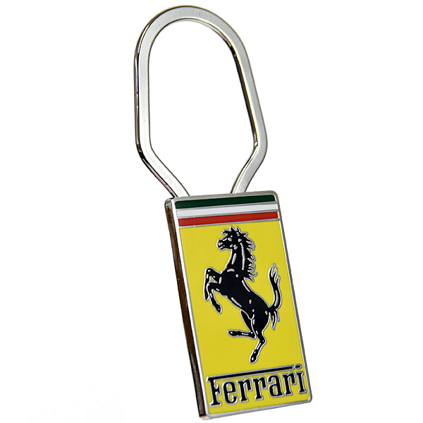Ferrari Emblem Shaped Keyring