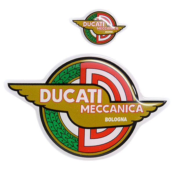 DUCATI MECCANICA 3D Stickers Set(2pcs.)