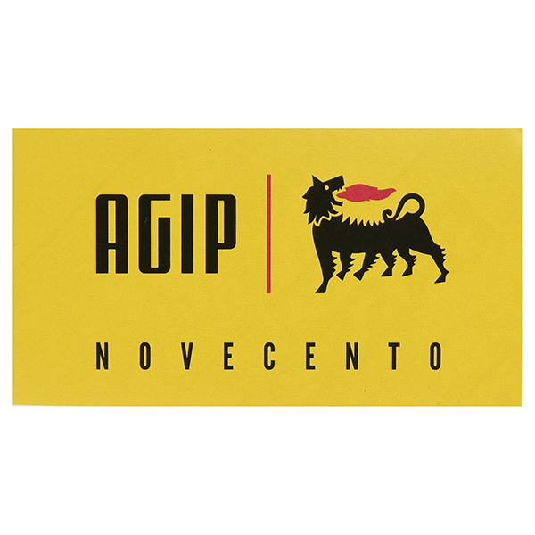 Agip NOVECENTO Paper Sticker(80mm)