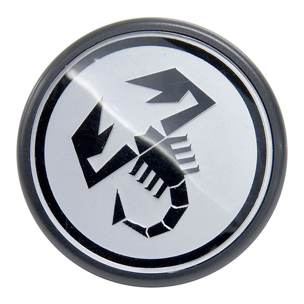 ABARTH Wheel Hub Cap (Silver/diamm 48mm)