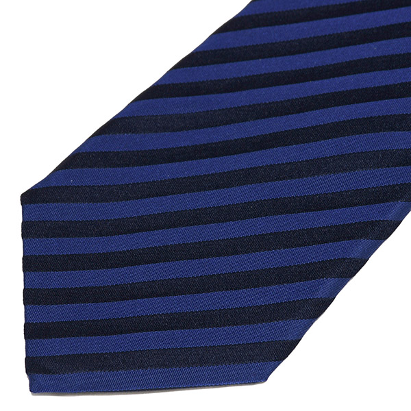 Ferrari Neck Tie(Navy/Stripe)