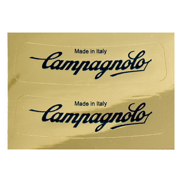Campagnolo Logo Stickers(2pcs./Gold)