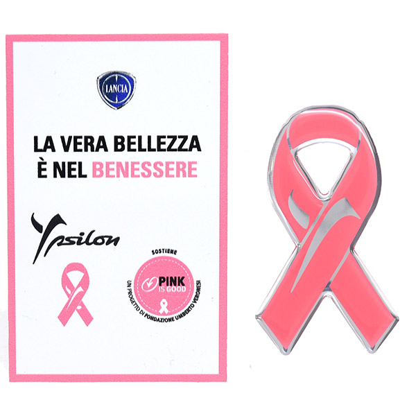 LANCIA Ypsilon Pink Is Good 3D Sticker