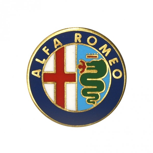 Alfa Romeo Historic Emblem Pin Badge Collection No.8