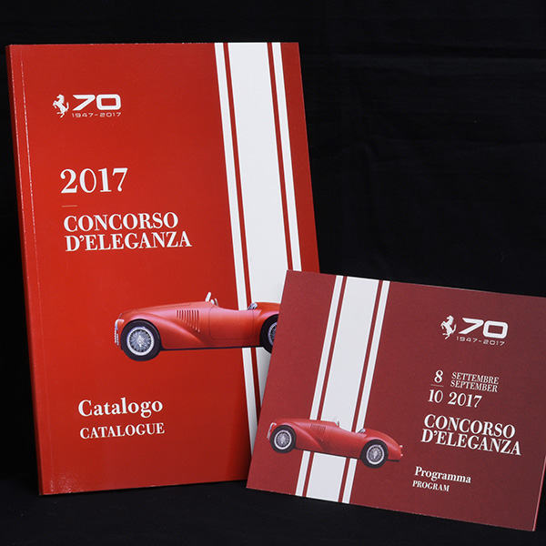 FERRARI HOLDS 70TH ANNIVERSARY CELEBRATIONS Concorso d'eleganza Catalogue