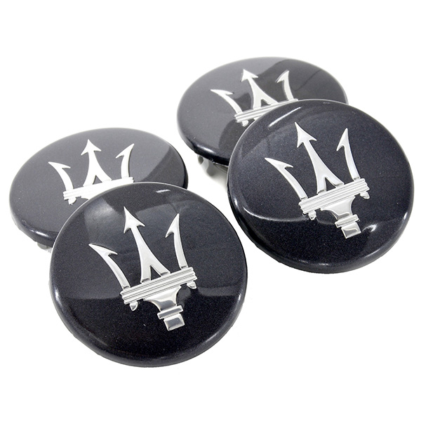 MASERATI Wheel Hub Cap Set(Metalic Gray)