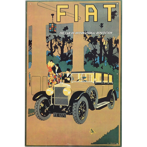 FIAT Vintage Poster replica Type A
