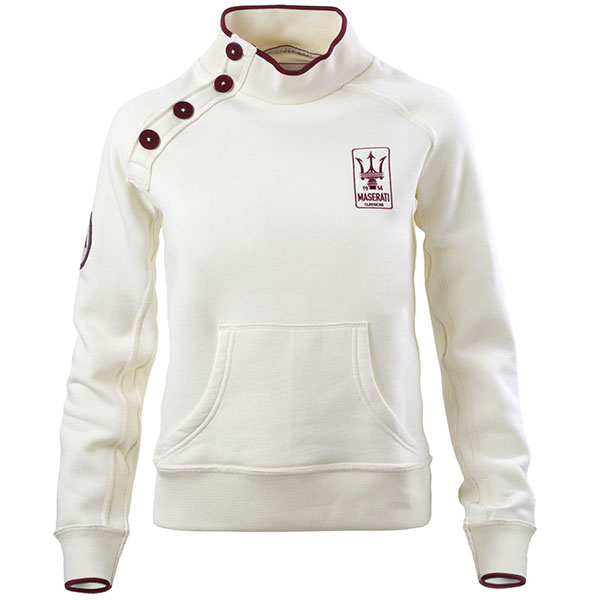 MASERATI CLASSICHE Sweat Shirts(Shoulder Button)
