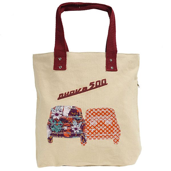 FIAT Nuova 500 Canvas Tote Bag(Bage)
